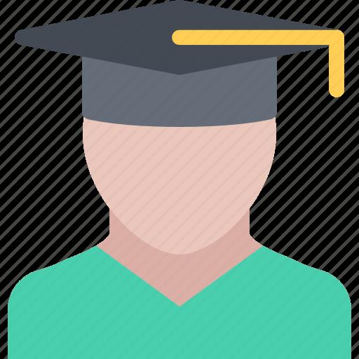 graduate, lecture, school, student, study, university icon