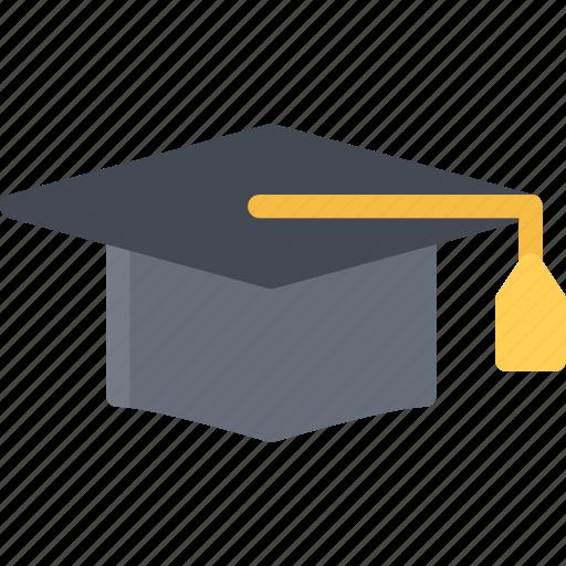 cap, graduate, lecture, school, student, study, university icon