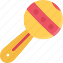 baby, child, childhood, kid, rattle icon