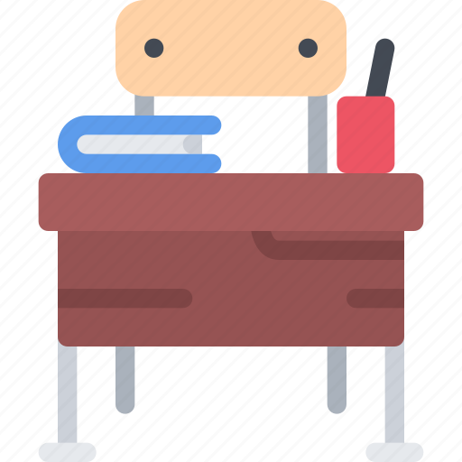 benches, lecture, school, student, study, university icon
