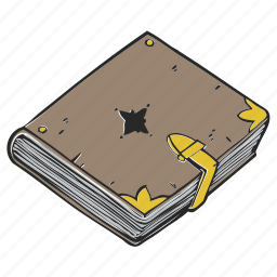 book, diary, planner, school, sketch, sketchbook icon