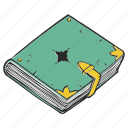book, diary, literature, planner, sketch, sketchbook icon