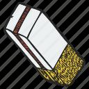 clean, eraser, india rubber, rubber icon