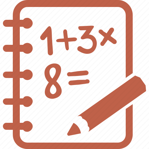 calculate  education  exercise book  math icon data clip art images data clip art free