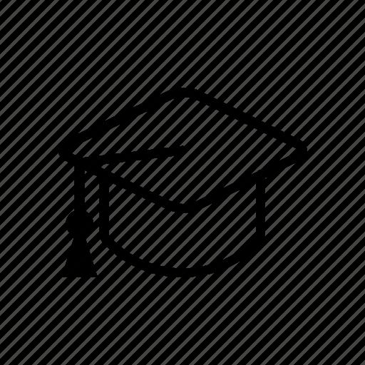 education, graduation, learning, school, student icon