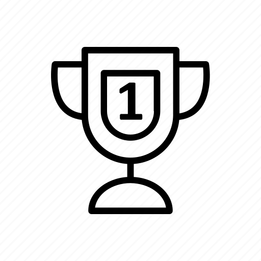 education, learning, school, student, trophy icon