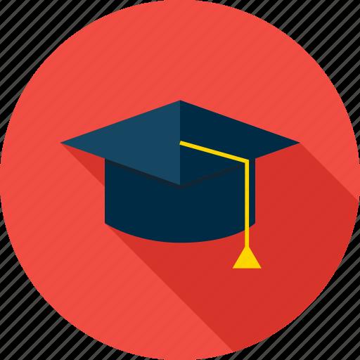 cap, graduate, grdauation, hat, school, science, university icon