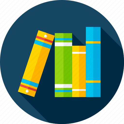 back to school, book, library, literature, read, school, subject icon