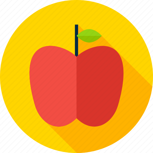 apple, diet, food, fruit, healthy, knowledge, wisdom icon