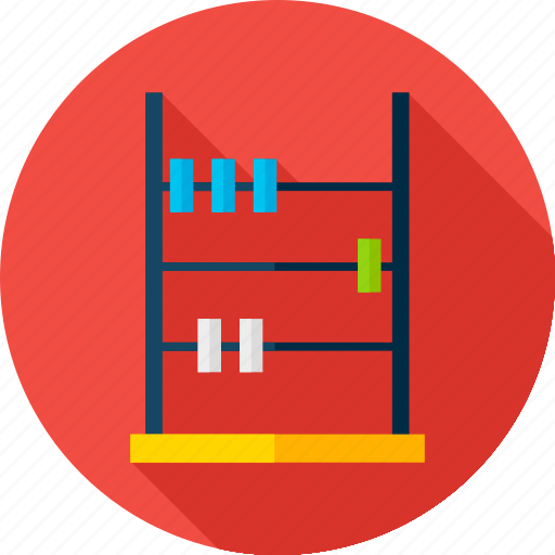 abacus, back to school, counter, education, maths, school, shopping icon