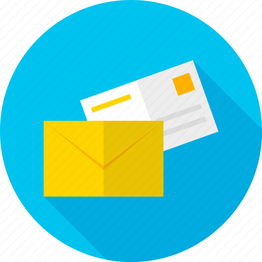email, envelope, mail, office, post, postal, send icon