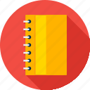 book, notebook, notepad, pad, school, sketchpad, tablet icon