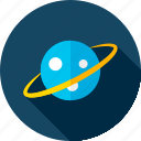 astronomy, education, planet, school, science, sky, space icon