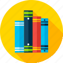 book, education, knowledge, library, literature, read, school icon