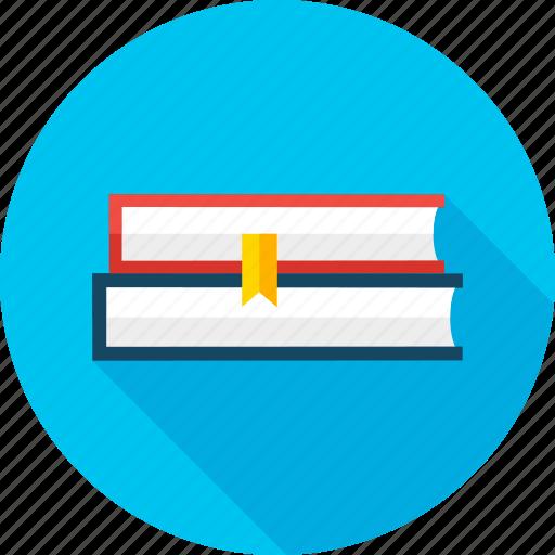 book, bookmark, education, learn, literature, read, school icon