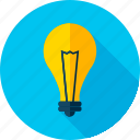 bulb, electricity, lamp, light, lightbulb, shine icon