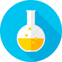 beaker, chemistry, glass, laboratory, medical, school, science icon