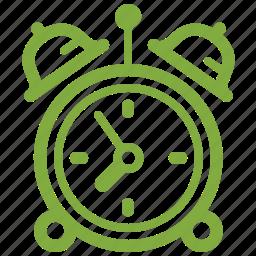alarm clock, alert, morning, time, time management, timing, wake up icon