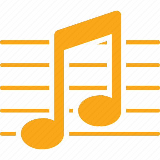 education, learning, music, musical note, school, sheet music, sound icon
