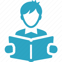education, learning, library, reading, school book, student, study icon