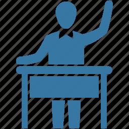 education, learn, learning, school, schoolboy, student, study icon