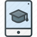 e, knowledge, learning, online course, studying, tablet, video