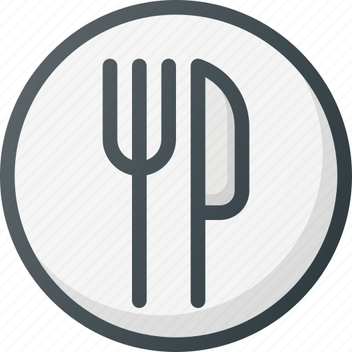 canteen, community, eating, food, fork, lunch icon