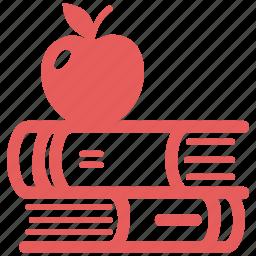 education, library, literature, school book icon
