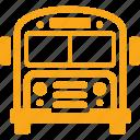 school bus, travel, transportation