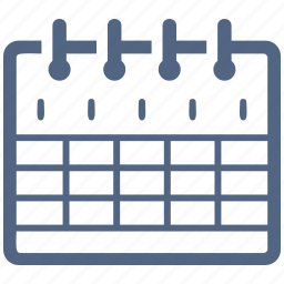 calendar, education, event, school schedule icon