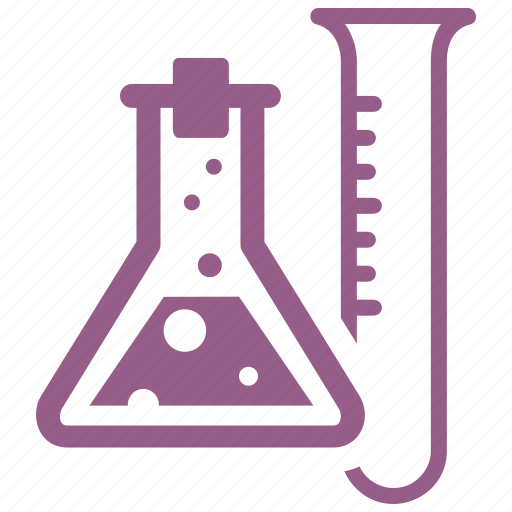 chemistry, education, experiment, laboratory, research, science, tubes icon