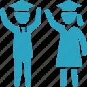 school, mortar board, graduation, student, schoolgirl, education, schoolboy