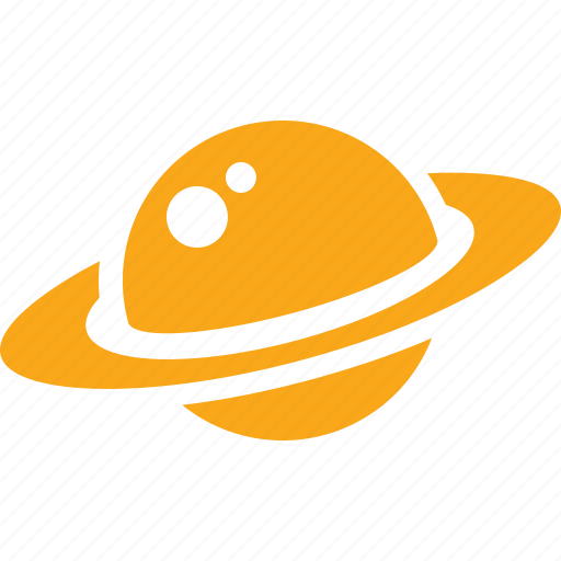 astronomy, cosmos, education, planet, saturn, school, space study icon