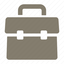 briefcase, business, education, office, portfolio, school, suitcase icon