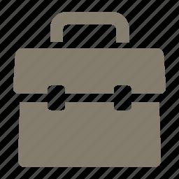 briefcase, business, education, office, portfolio, school, suitcase icon