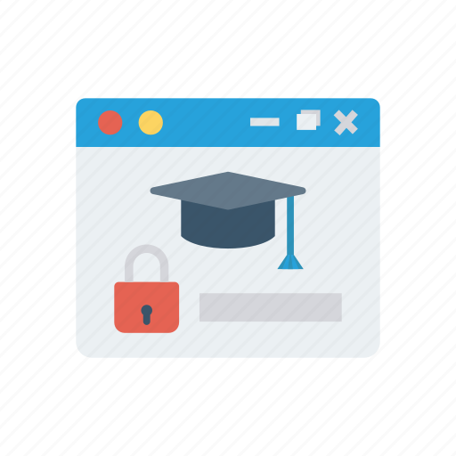 Browser, education, online, study icon - Download on Iconfinder