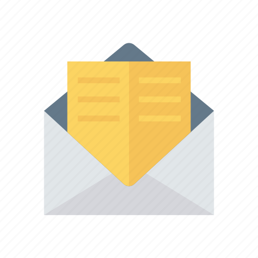 Envelope, mail, message, open icon - Download on Iconfinder