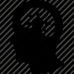 brain, head, human, idea, mind icon