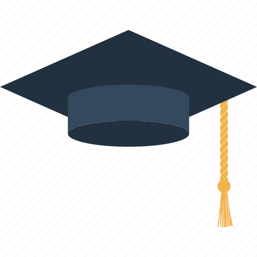 cap, design, education, graduation, hat, school icon