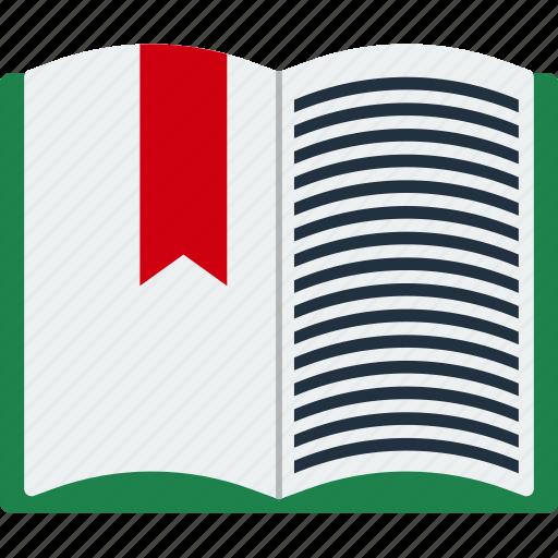 book, design, education, open, read, school icon