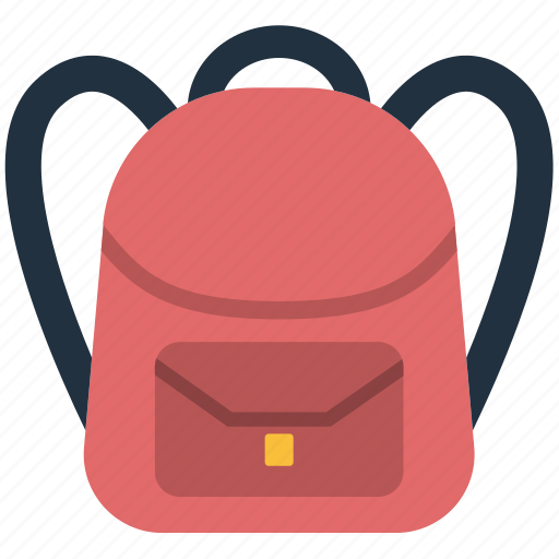 backpack, bag, design, education, pupil, school icon