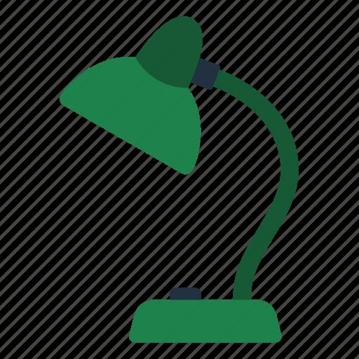 design, education, lamp, read, school, table icon