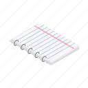 blank, book, cartoon, notebook, notepad, office, paper icon