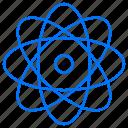atom, chemistry, education, nuclear, school icon