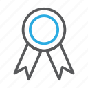 achievement, clever, line, school, smart, win, winner icon