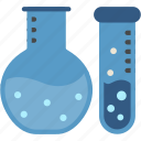 flask, chemistry, erlenmeyer, laboratory, research, science icon