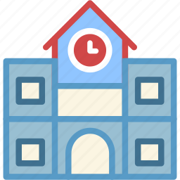 building, college, education, highschool, university icon