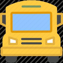 bus, school, transport, transportation, travel, vehicle icon