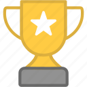 trophy, winner, victory, prize, champion, cup icon