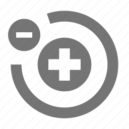 atom, atoms, minimize, minus, remove icon